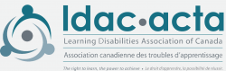 My Education Room Partner: The Learning Disabilities Association of Canada